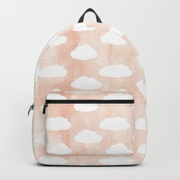 Coral clouds Backpack
