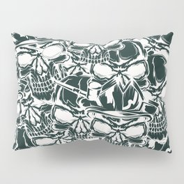 Pirate - White - Pirate Pillow Sham