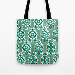 Indian Lucite Green Tote Bag