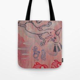 Dick and Jane go to Disneyland Tote Bag