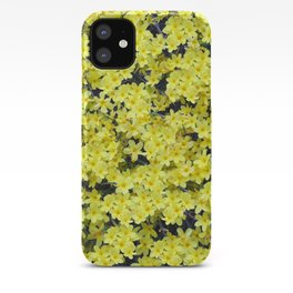 Happy Forsythia iPhone Case