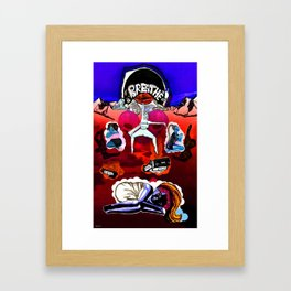 Language Eclipsed Framed Art Print