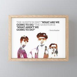 Ferris Bueller is my Hero Framed Mini Art Print
