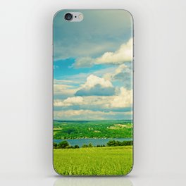 Seneca Lake Wine Road iPhone Skin