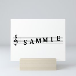 Name Sammie Mini Art Print