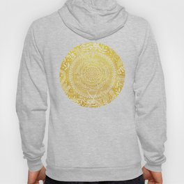 Medallion Pattern in Mustard and Cream Hoody