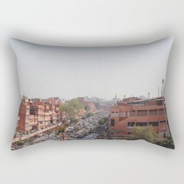 PINK CITY Rectangular Pillow