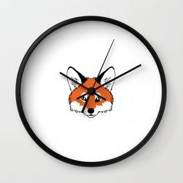 Oh For Fox Sake Funny Fox Hound T-Shirt Wall Clock