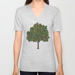 Marble Tree Unisex V-Neck