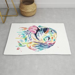 Beagle Painting Rug