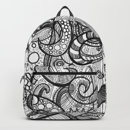 octupi heart Backpack