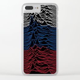 Joy Division - Unknown Russian Pleasures Clear iPhone Case