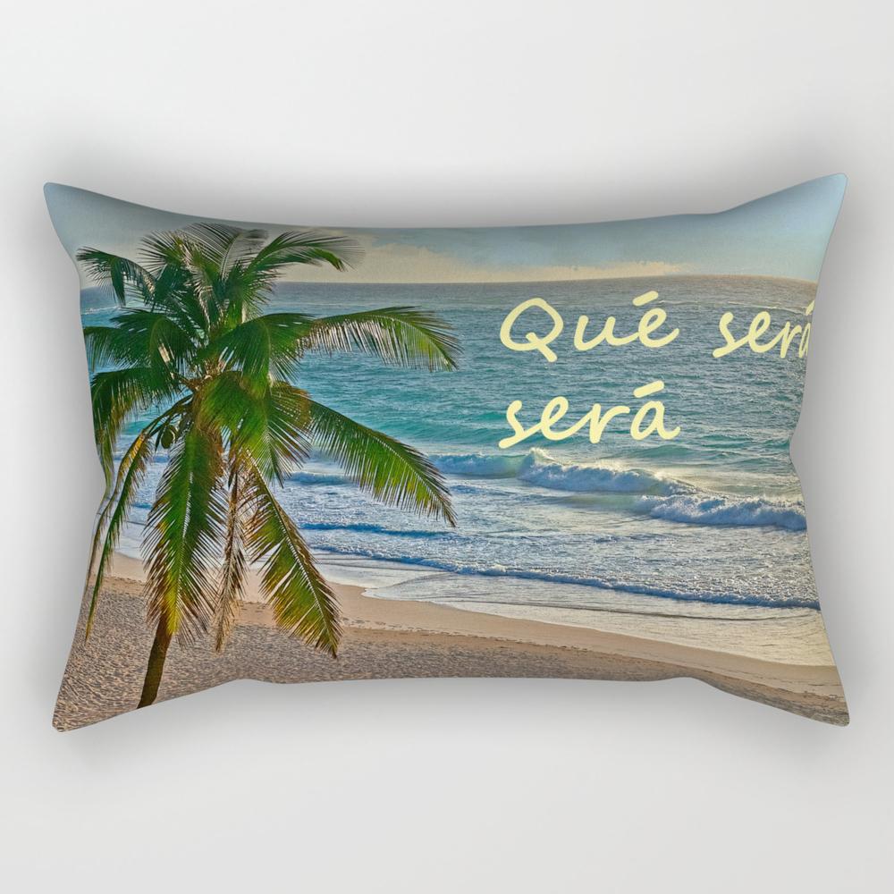 Que Sera, Sera Rectangular Pillow RPW968275