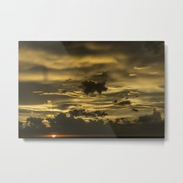 The Day The Sky Cracked Metal Print
