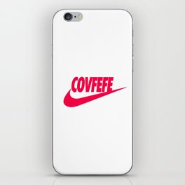 Covfefe [PINK] iPhone Skin