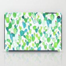 Watercolour Cacti iPad Case