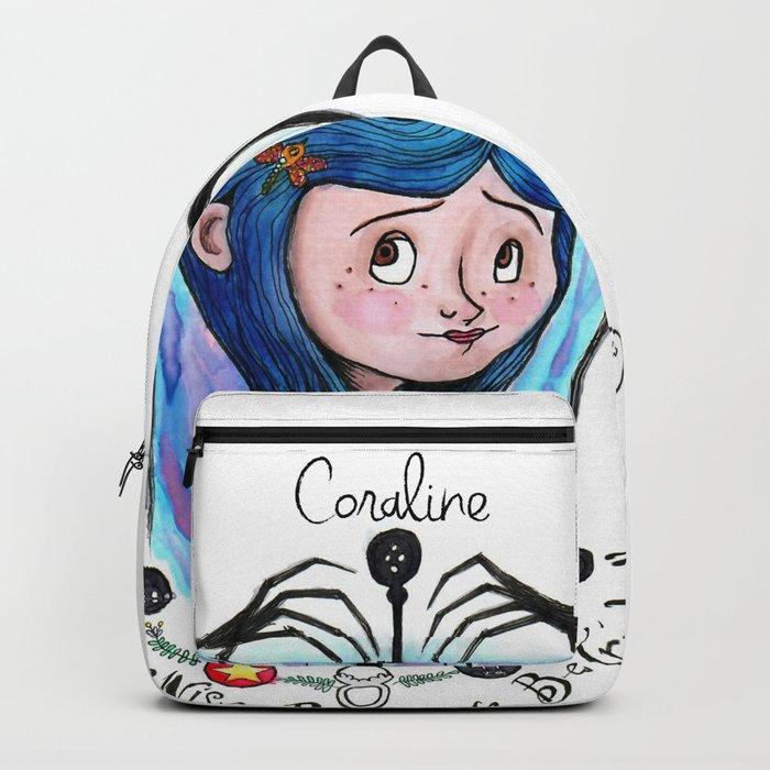 Coraline Jones Backpack By Meganelizabethart13 Society6