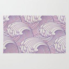 Lilac Waves Rug