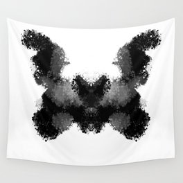 Rorschach v.1 Wall Tapestry