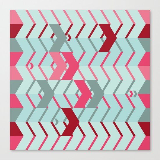 ArrowZigZag Canvas Print