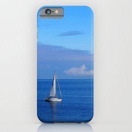 Crystal blue solitude  iPhone Case