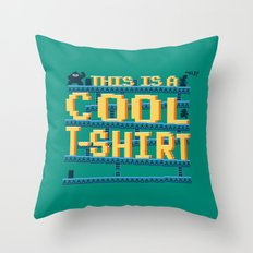 This Is a Cool Tshirt Throw Pillow