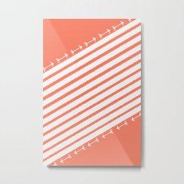 LINE2 Metal Print