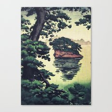 Autumn Rain in Yama Canvas Print