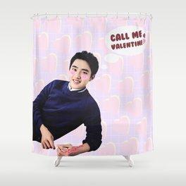 Call Me Valentine - Kyungsoo Shower Curtain