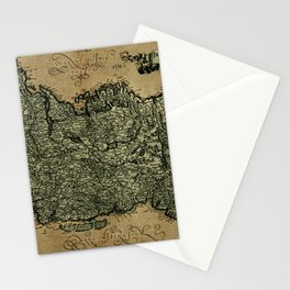 Vintage Map Of Ireland 1771 Stationery Cards