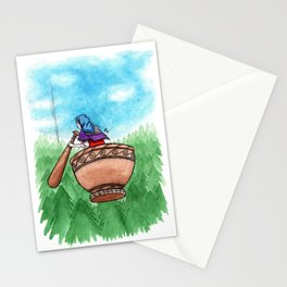 Flying Back Home Stationery Cards