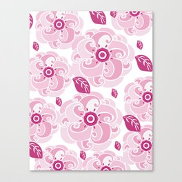 Twirly Rose Canvas Print