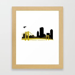Pittsburgh Browncoats Framed Art Print