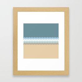 Beach Color Combo Framed Art Print
