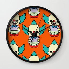 krusty style pin y pon Wall Clock
