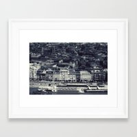 budapest Framed Art Prints featuring Budapest by farsidian