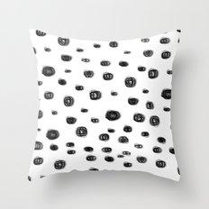 dots dots Throw Pillow