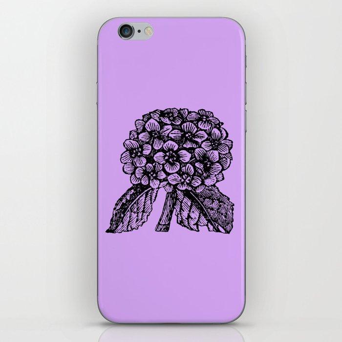 Lavender Hydrangea iPhone Skin