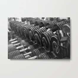 One Rep at a Time Metal Print