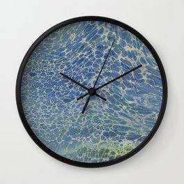 Breeze on Ocean Waves Wall Clock
