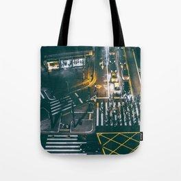Night walking street 4 Tote Bag