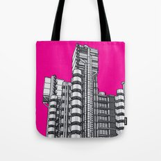 London Town - Lloyds of London Tote Bag