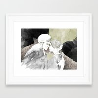 jane eyre Framed Art Prints featuring Jane Eyre Editorial #1 by Autumn Rose Northcraft
