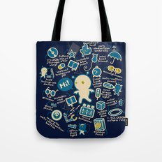AWESOME BIBI'S GADGETS Tote Bag