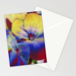 Abstract Flowes 01 Stationery Cards