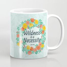 Floral Wildness Coffee Mug