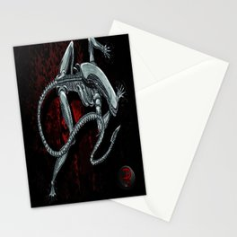 Darrell Merrill Nerd Artist Xenomorph Stationery Cards