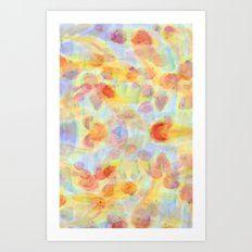 Fish Pond Art Print