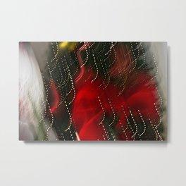 Abstract Madcap Noel Metal Print