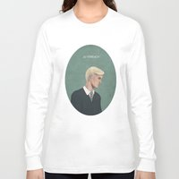 slytherin Long Sleeve T-shirts featuring Slytherin by Sara Meseguer